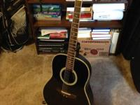 Black Ovation Applause Good condition. New Strings.