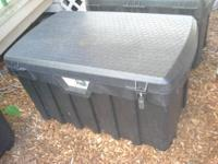 Heavy duty box, made for storing or toting heavy stuff