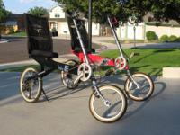 Forsale Fresh The Recumbent Bike-E, 24 rates, high