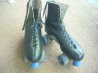 These black precision skates are in excellent