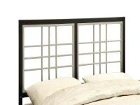 This sophisticated headboard/footboard will be a