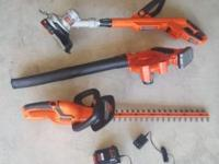 RECENTLY PURCHASEDBARELY USED BLACK + DECKER PAID $260