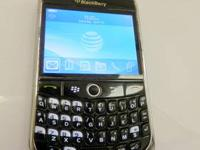Here is one of our phones - a BlackBerry Curve 8900