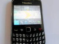 Here is one of our phones - a BlackBerry Curve 9330