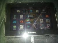 16 GB blackberry playbook -comes with leather folding