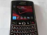 Here is one of our phones - a BlackBerry Tour 9630