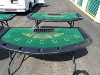 Well made use of blackjack tables for sale. These have