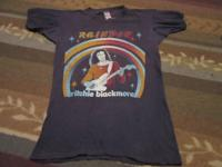Vintage Ritchie Blackmores Rainbow 1978 tour shirt.