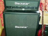 Blackstar Amp and Head. Details in pics. Only used a