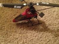 Blade 120sr, fixed pitch micro sized helicopter. Real
