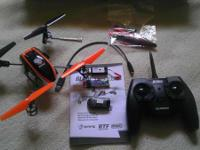 The Blade 180 QX quadcopter is in great condition. It