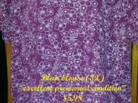 Blair blouse (3X) excellent pre-owned condition On sale