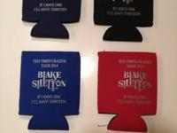 I have these 10 Times Crazier Tour 2014 Can Koozies for