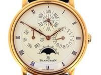 Blancpain 18k rose gold Perpetual Calendar, automatic,