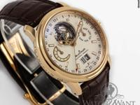 Features Perpetual Calendar Caseback See Through