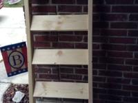 These ladders are handmade. You can use the ladders to