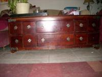 Carved Coffee Table For Sale In Alta Loma California