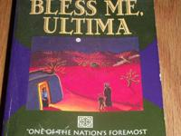 Bless Me Ultima by Rudolfo Anaya. In good condition. If