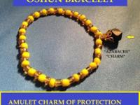 Hand made Beads blessed amulet orisha bracelet with