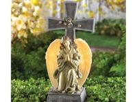 Bless your garden with the light of Gods love! Faux
