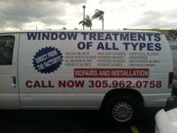 Window Coverings / Treatments Blinds of All Types