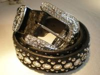 Bling Belts...get one for all the ladies on your gift