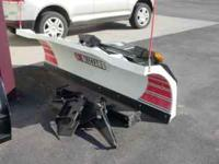 I have a VERY NICE Blizzard model 860HD snow plow for