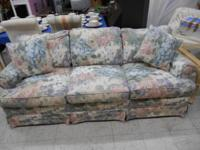 "Flower Sofa fit. The Measurements are: 77"" Long, 31"""