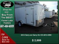2014 Carry-on Carry-On CO-6X12-ENC  ...  $ 2,699   View
