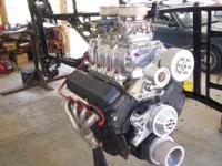 1996 Gen V 454 chevy with a new Bill Dyers 8:71 blower,