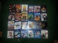 Selling blu-ray and dvd movies for a good price. They
