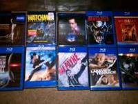 Brand new Blu Rays are Gran Torino Watchmen The