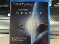 Gravity on Blu-Ray for sale. In good condition and