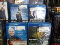 BLU RAY MOVIES $6.00   show contact info