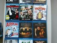 Selling most of my blu ray collection due to a divorce.