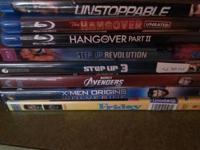 Selling the blurays and dvds.. need gone selling blu