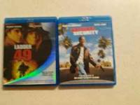 i have two blu rays i selling like new ladder 49