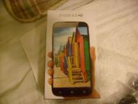 "smartphone w/ 6"" touch screen Powered by Android, Jelly"