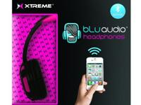 New in box Xtreme BLUaudio Bluetooth Headphones,