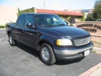 2001 Ford F150 Lariat SuperCrew 2WD. Trans.: 4 Speed