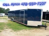 Blue 8.5 x 28 TA3 Enclosed Trailer Standard Features: