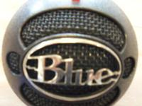 Marketing an 8-Ball Microphone by Blue.  Cardoid