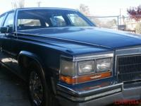 Beautiful and sound 4-door Fleetwood Brougham with