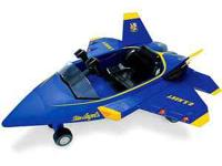 BLUE ANGELS ride-on toy, doesnt have charger call