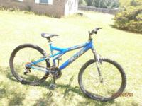 We are selling an Evolution Pacific mountain bike. The