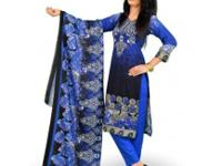 KEY FEATURES Blue and Black Color Linen Three quarter