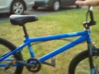 Blue Haro F4 in great condition. Its only been riden a