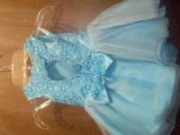 Size 1 (12-24 month fitting) Wore one time - comes with