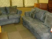 Sofa and Loveseat Set rental return,nice condition.