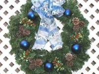 Brand new handmade Christmas and holiday wreaths from